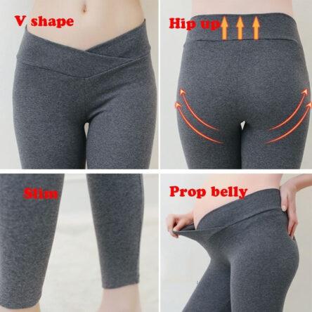 Autumn Maternity Leggings Women Low Waist Pregnancy Belly Pants For Pregnant Women Maternity Trousers Clothes Women Leggings